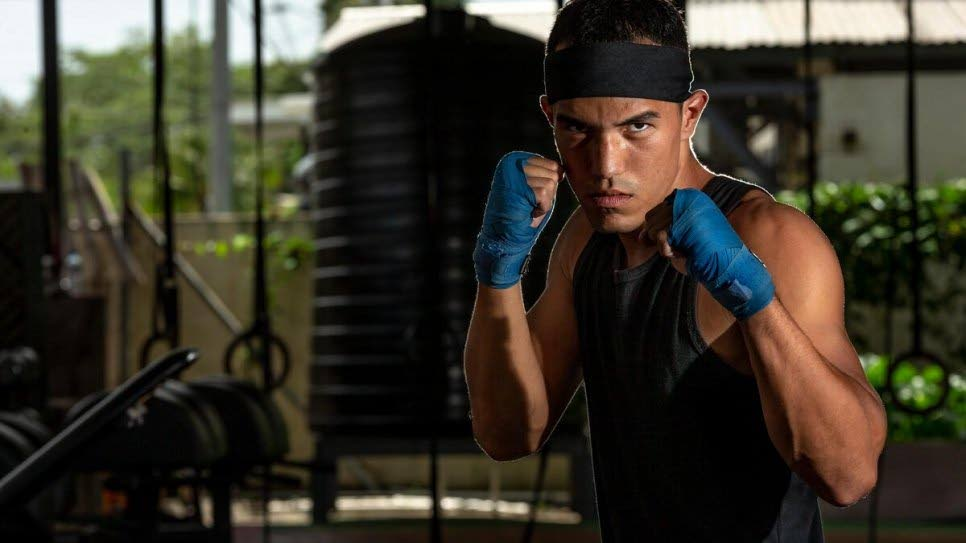 Venezuelan boxer Eldric Sella Rodriguez. Photo courtesy UNHCR -