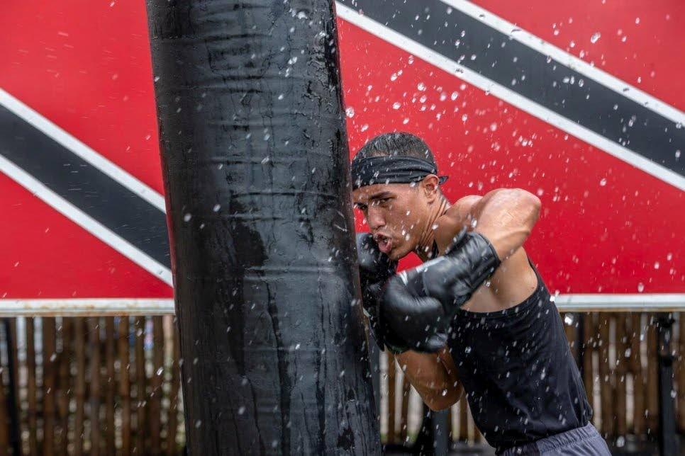 Venezuelan boxer Eldric Sella. Photo courtesy UNHCR