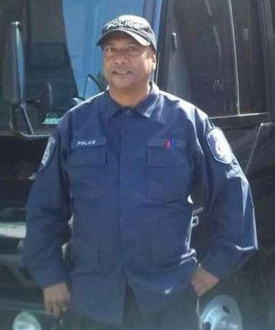 DEAD: Acting Sgt Tony Rampaul - the 12th police officer to die from the covid19 virus. PHOTO COURTESY TTPS -