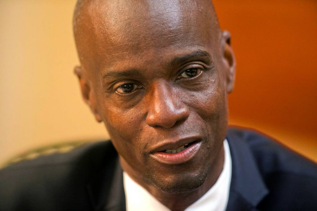 Haiti's President Jovenel Moise was assassinated at his home in Petion-Ville, a suburb of Port-au-Prince, Haiti. - AP PHOTO