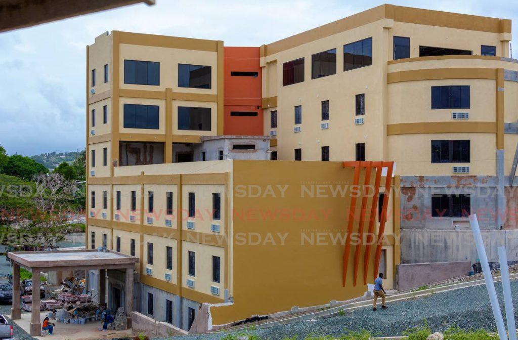 Construction on hold at Comfort Inn & Suites, Shaw Park. - DAVID REID
