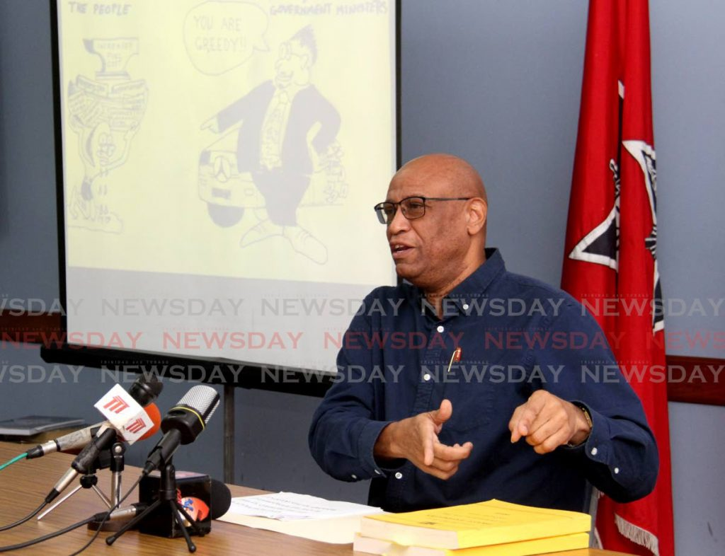 OWTU president general Ancel Roget. Photo by Ayanna Kinsale