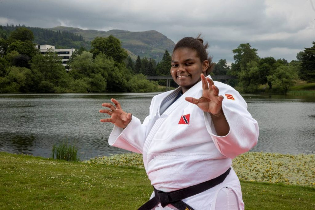 REPRESENT: Gabriella Wood who on Thursday will become the first woman to represent TT in judo at an Olympics. PHOTO COURTESY UNIVERSITY OF STIRLING -