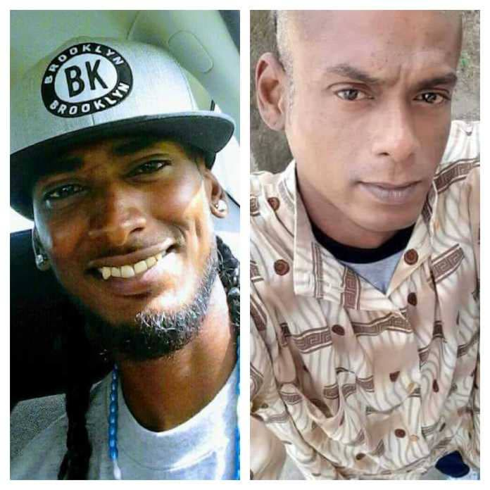 """The bodies of Parasram """"Brain"""" Boodoo and Navindra """"Tall Man"""" Garib., who went missing at sea on Monday, were recovered on Thursday and Friday. -"""