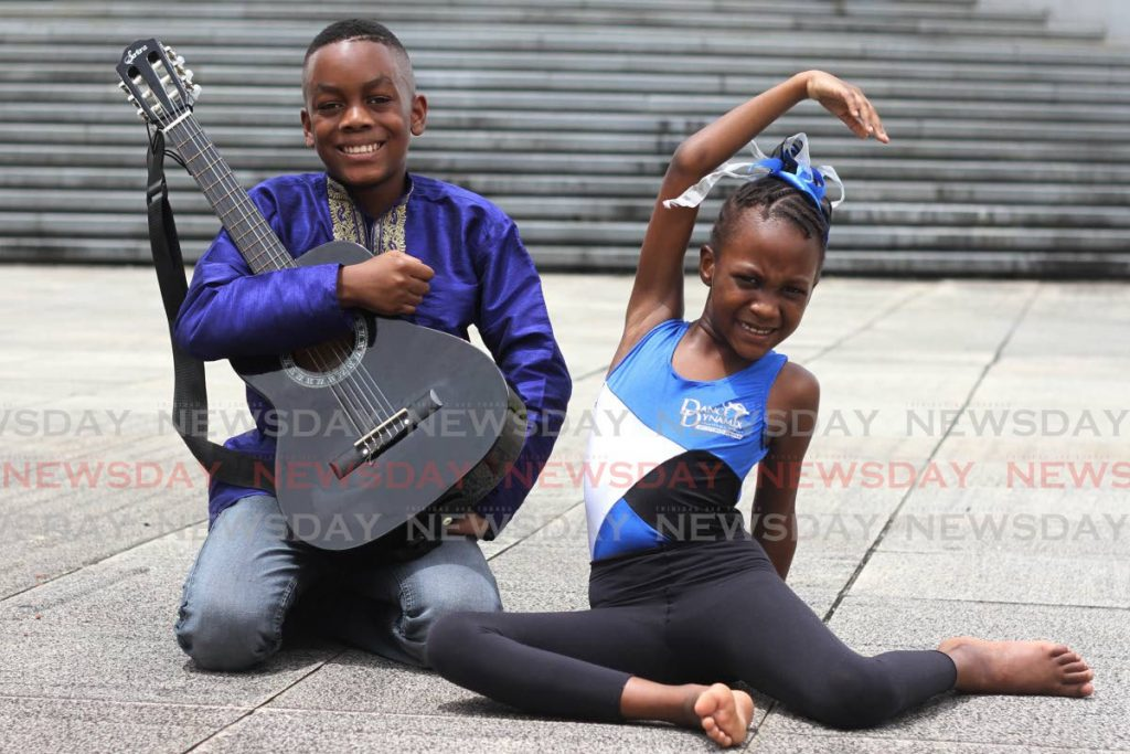 Veronica and Nixon Callender share a passion for music and dance.  - Photo by Marvin Hamilton