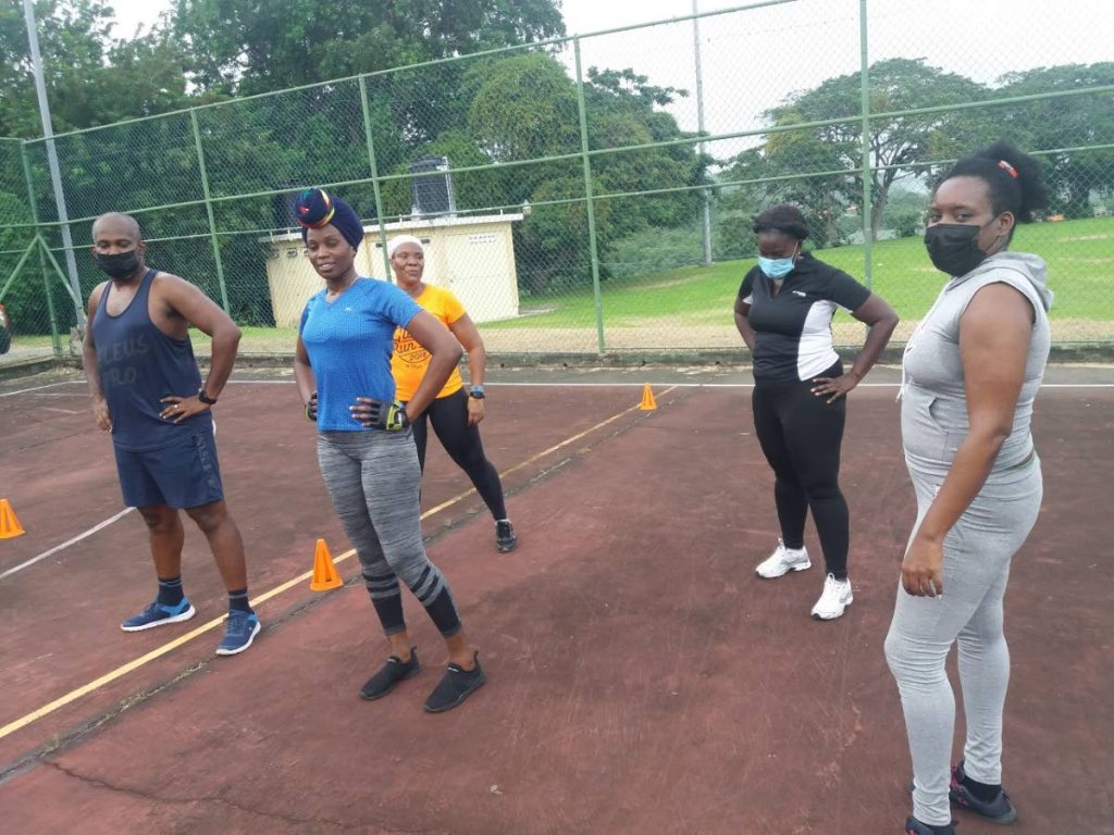 Members of Mello Hit Fitness Class. PHOTO COURTESY SEVE ANTHONY
