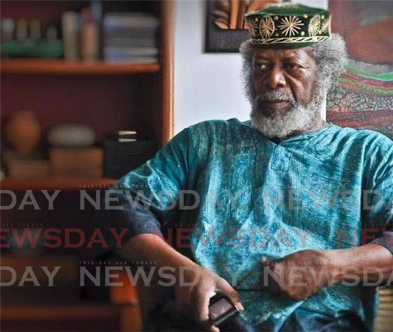 THE MAN, THE ARTIST: Master artite LeRoy Clarke who died last Tuesday at age 82. -
