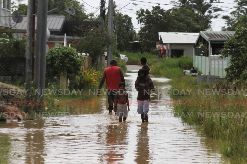 Fearing flooding, residents sleepless in St Helena