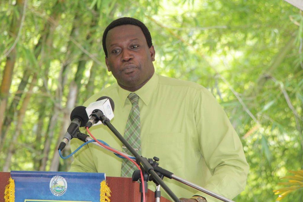 Former PNM assemblyman Sheldon Cunningham -