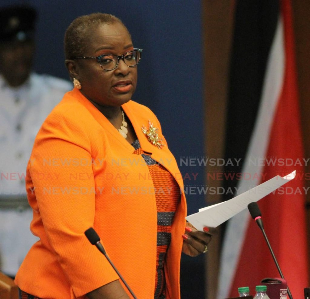 Planning and Development Minister Camille Robinson-Regis. File photo -