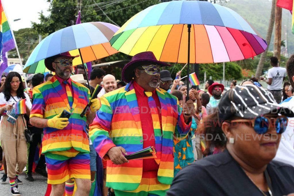 Pride TT second annual parade along Tragarete Road, Woodbrook on July 28, 2019. File photo/Sureash Cholai -