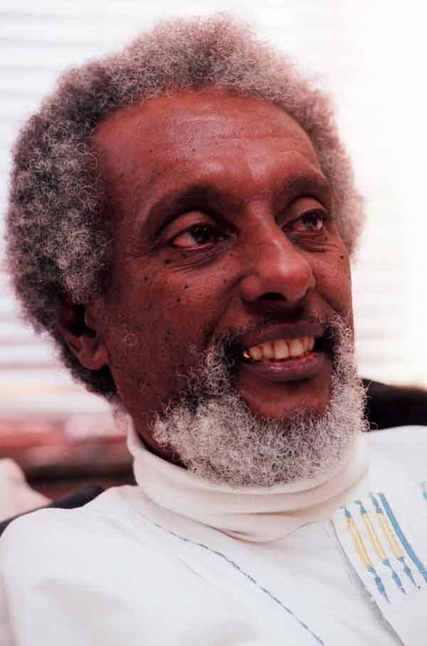 Trinidad-born civil rights leader Kwame Ture  -