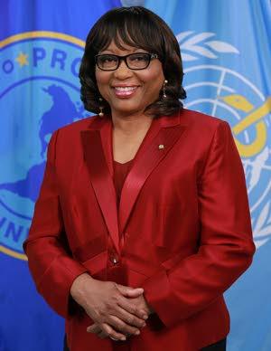 PAHO director Dr Carissa Etienne. -