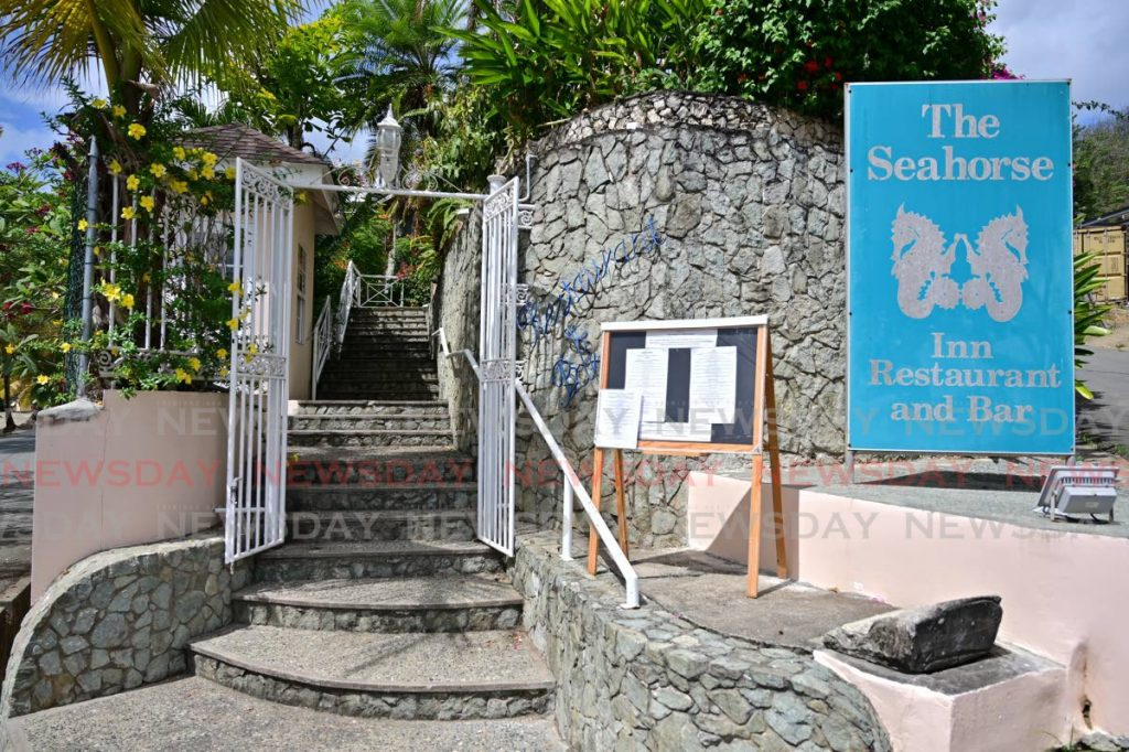 Seahorse Inn Restaurant and Bar, Black Rock, Tobago. Owner Nicholas Hardwicke says he lost $2 million due to the closure of in-house dining. File photo -