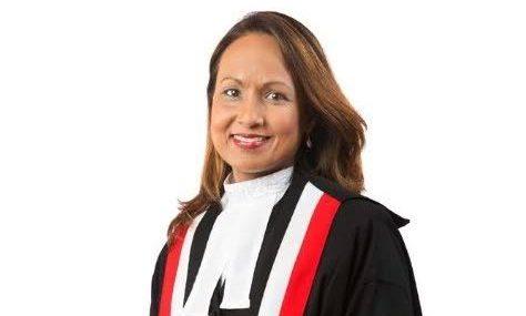 Justice Margaret Mohammed. -