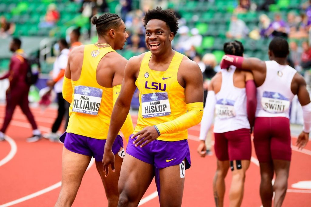 TT sprinter Akanni Hislop is set to make his Olympic debut as part of the 4x100m relay team when they take to the track for the Tokyo Olympics. -
