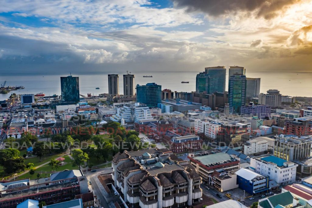 An aerial view of Trinidad and Tobago's capital city, Port of Spain. - FILE PHOTO