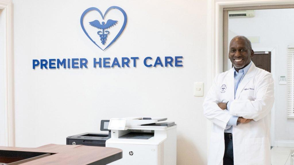 Dr Clifford Thomas. Photo via Premier Heart Care Ltd Facebook page.