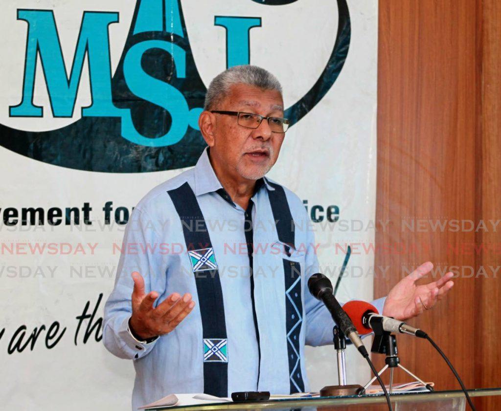 MSJ political leader David Abdulh. FILE PHOTO -