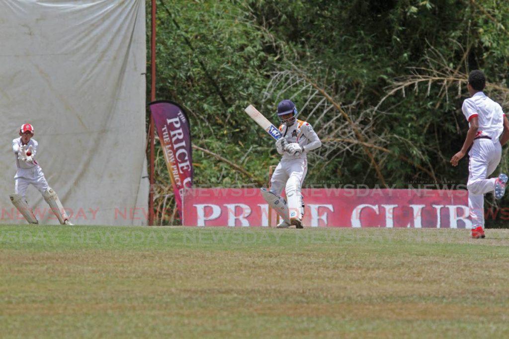 Cricket action at the National Cricket Centre in Balmain, Couva. Photo by Marvin Hamilton - Marvin Hamilton