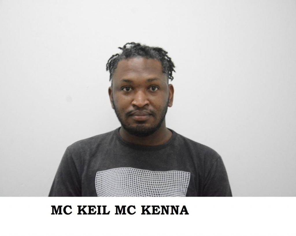 McKeil McKenna on harassment charge - TTPS