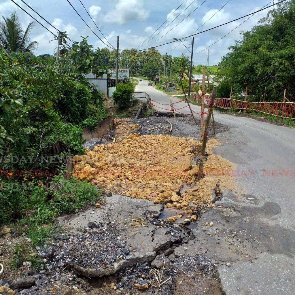 Guaracara Tabaquite Road. Photo by Ryan Hamilton-Davis