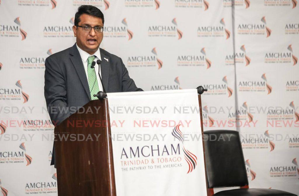 Amcham TT CEO Nirad Tewarie