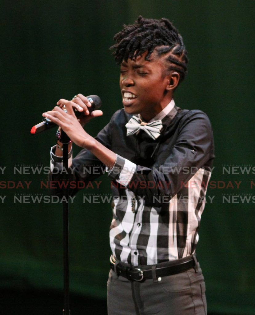 First Citizens National Poetry Slam champion Deneka Thomas will lead a masterclass at Nalis. -