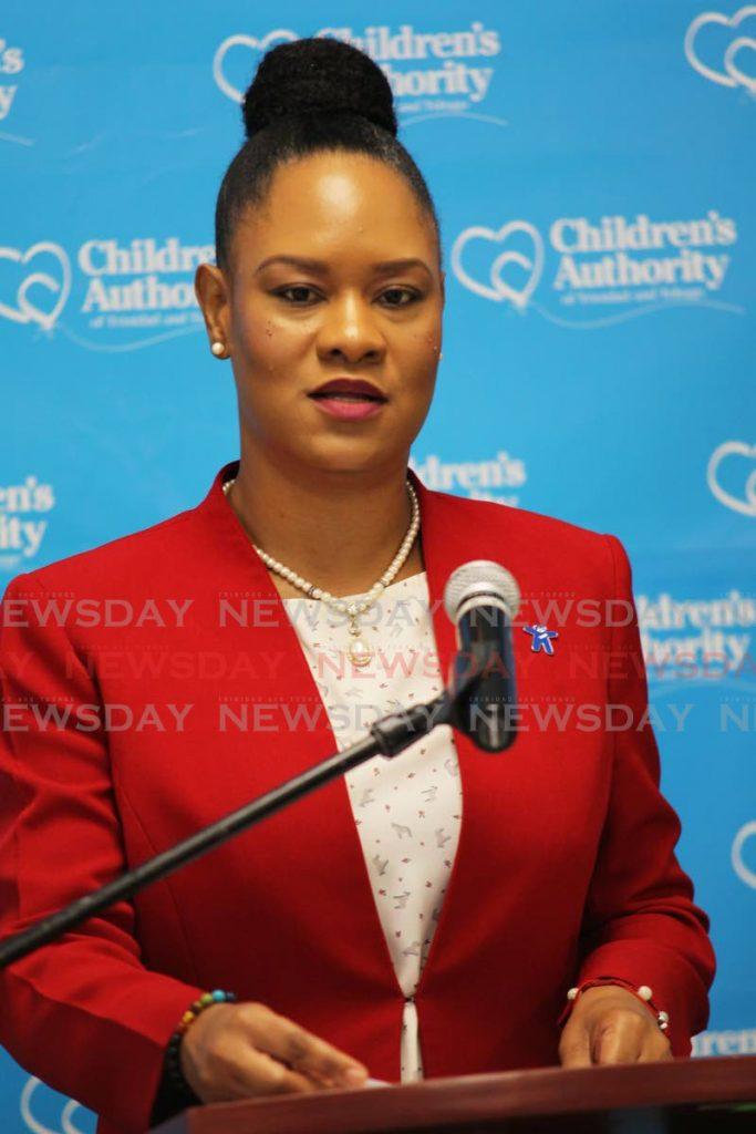 Tobago East MP Ayanna Webster-Roy  -