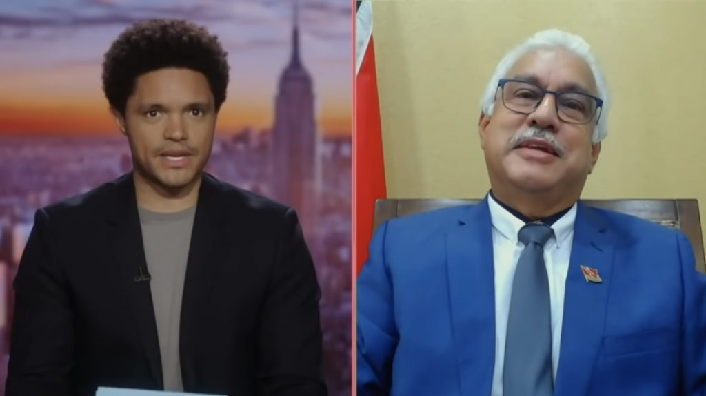 Image source: The Daily Show with Trevor Noah