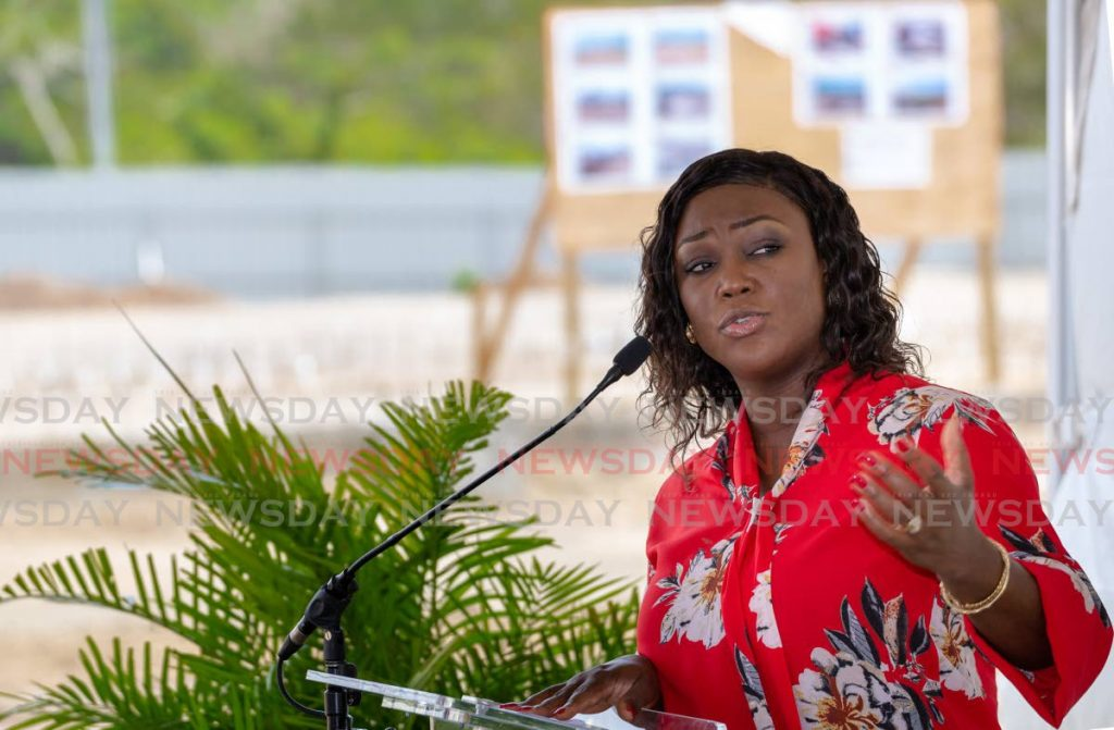 PNM Tobago Council leader Tracy Davidson-Celestine -