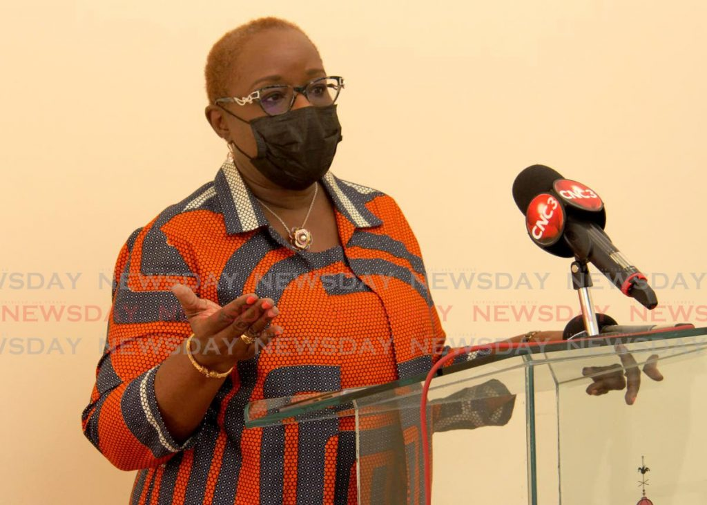 Planning and Development Minister Camille Robinson-Regis. -