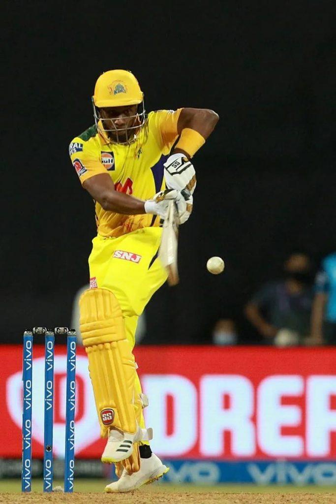 Chennai Super Kings' Dwayne Bravo. -