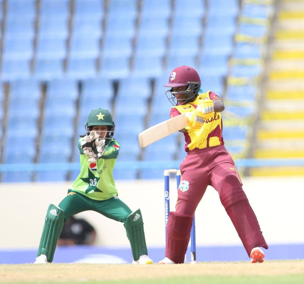 West Indies' Rashada Williams scored 78 not out in 138 balls.  - CWI Media