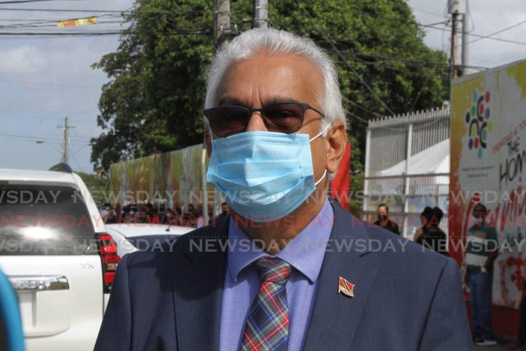 Education Minister Terrence Deyalsingh. Photo by Marvin Hamilton - Marvin Hamilton