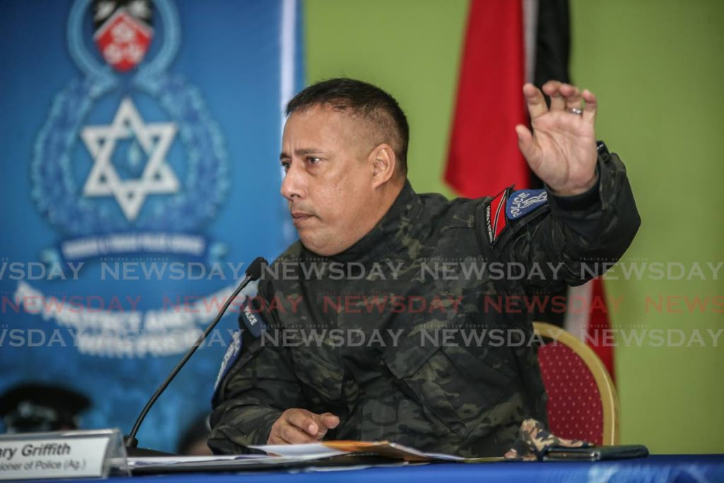 Former police commissioner Gary Griffith. FILE PHOTO -