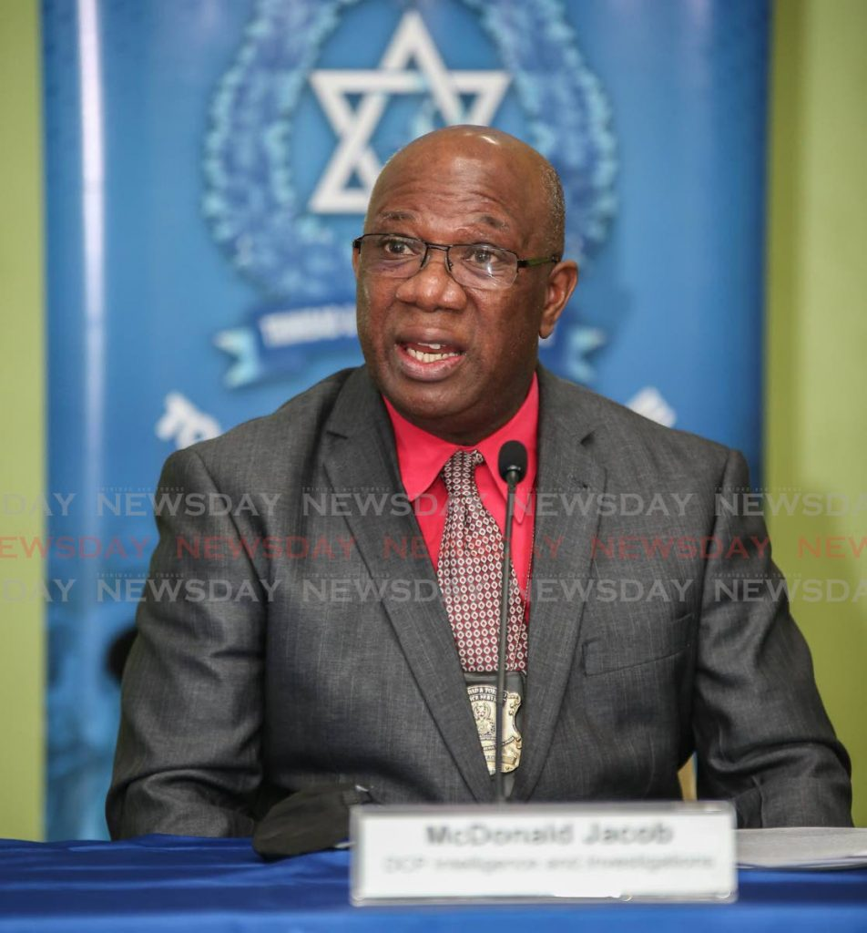 Acting Commissioner of Police McDonald Jacob.
