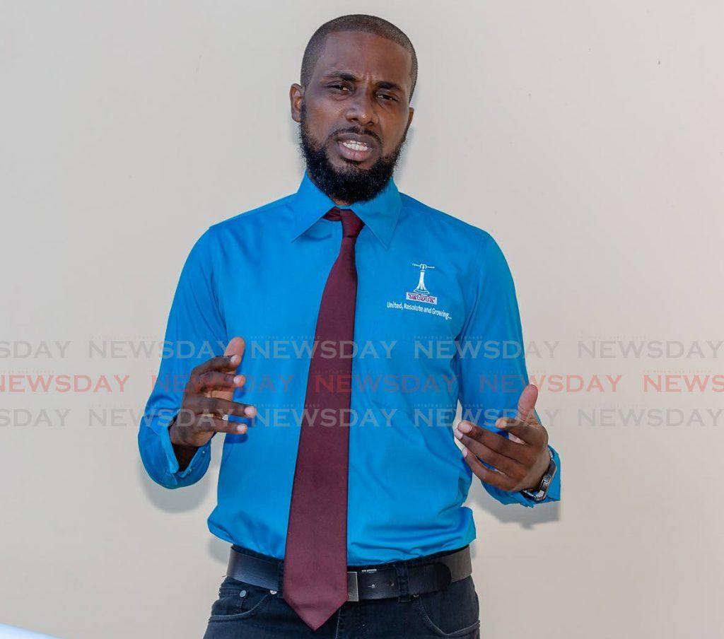 TTUTA Tobago officer Bradon Roberts