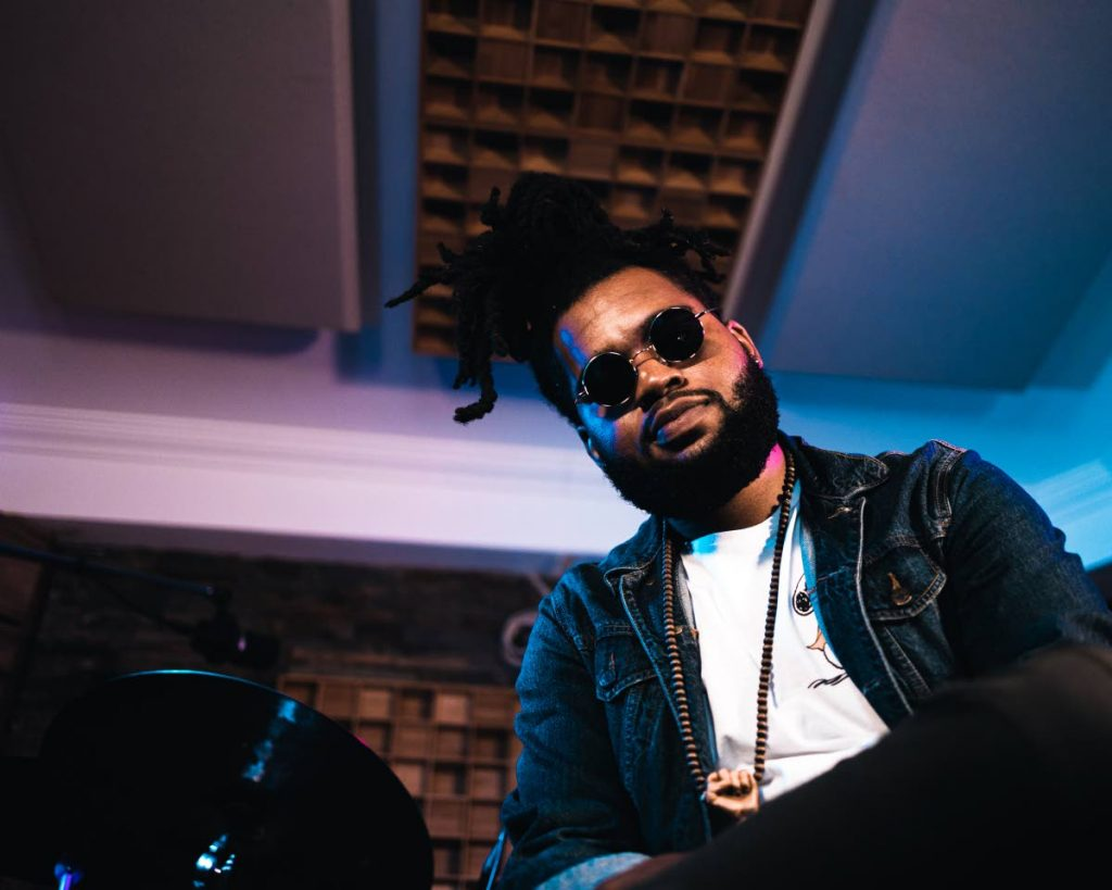 Dareem Chandler is a music teacher, professional drummer, composer and the founder of Drumlab Academy and Studio.  - Photo courtesy Azriel Bahadoor