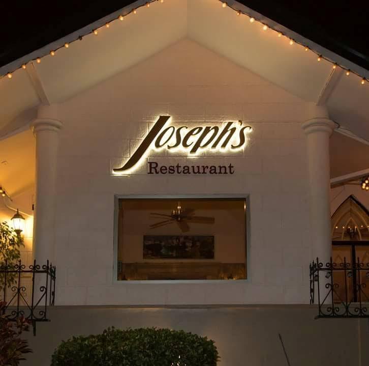 Joseph's Restaurant in Maraval.