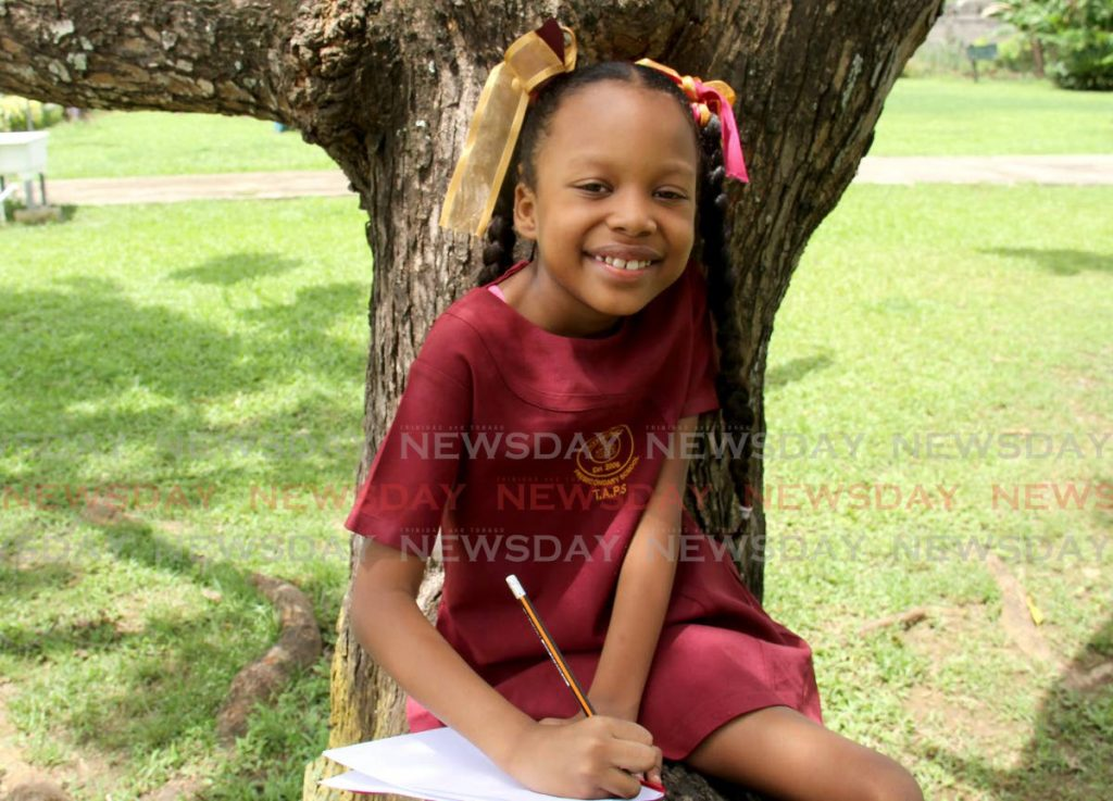 Kitara Peter wants to be a writer and an astronaut. - PHOTO BY AYANNA KINSALE