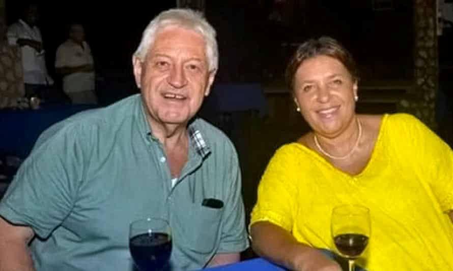 Richard and Grace Wheeler were murdered in Tobago in 2015. -
