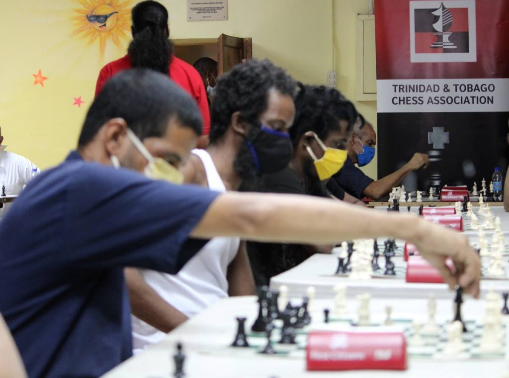 Inmates at the Port of Spain prison compete for a spot on the national team which will feature, for the first time, at the Inter-Continental Chess Championships in October.  - TTCA