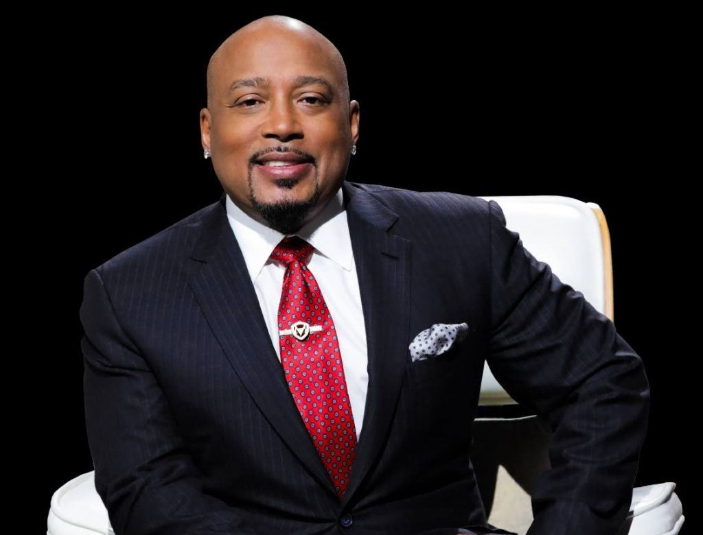 Star of the reality pitch show Shark Tank and founder/CEO of apparel company Fubu, Daymond John. -