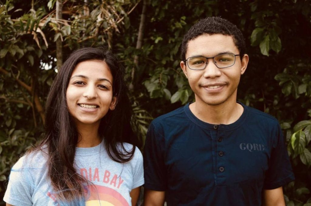 Yasha Hanoomansingh and David Parris, co-directors of the film, Killing Columbus. Photos and film images courtesy Yasha Hanoomansingh -
