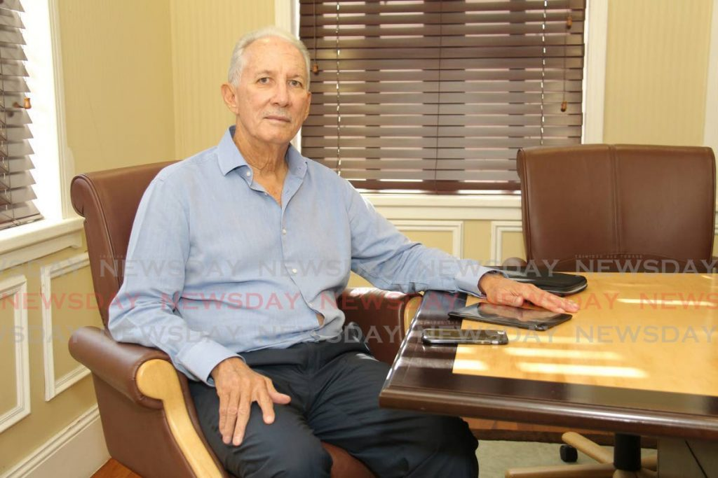 Former Petrotrin chairman Wilfred Espinet -