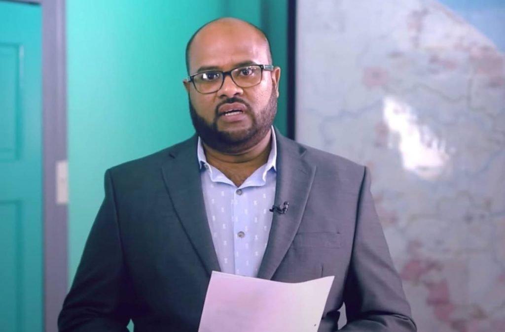 Former Cricket West Indies communications officer Imran Khan  -