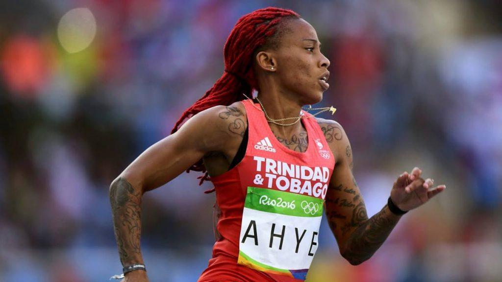 Trinidad and Tobago sprinter Michelle-Lee Ahye -