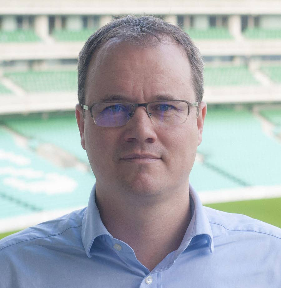 Cricket West Indies CEO Johnny Grave -