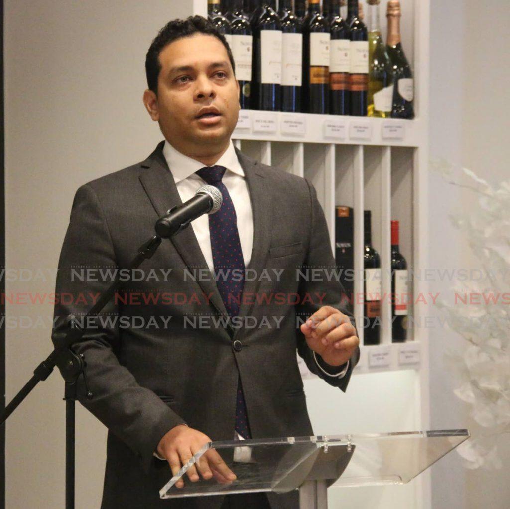 Minister of Tourism Randall Mitchell - Ansel Jebodh